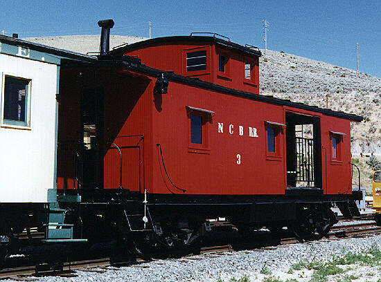 Nevada Copper Belt - Caboose No. 3