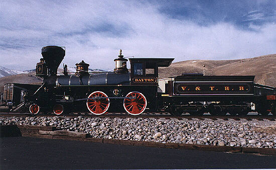 Virginia & Truckee No. 18