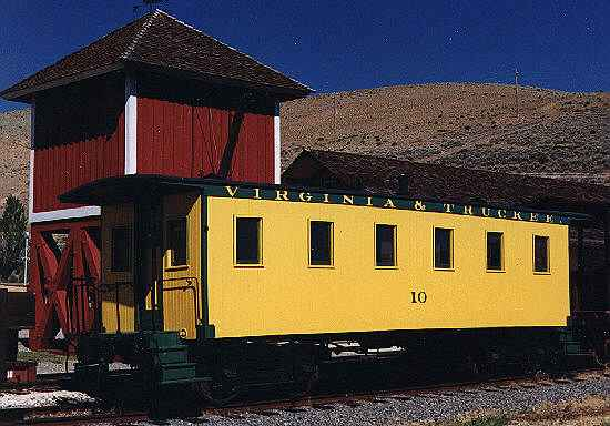 Photo of V&T Coach/Caboose  No. 10