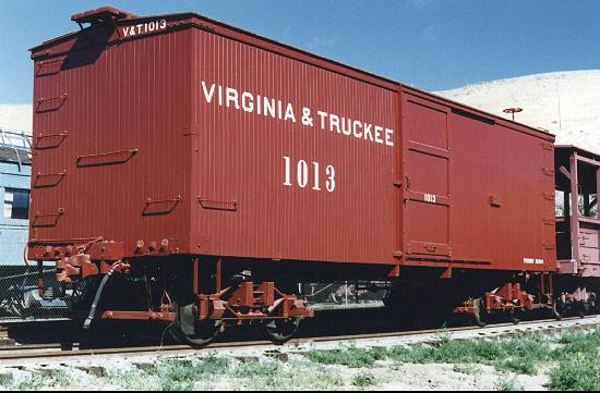 Virginia & Truckee Boxcar 1013