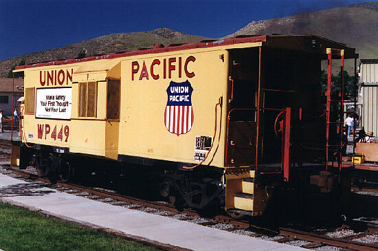 WP caboose No. 449.